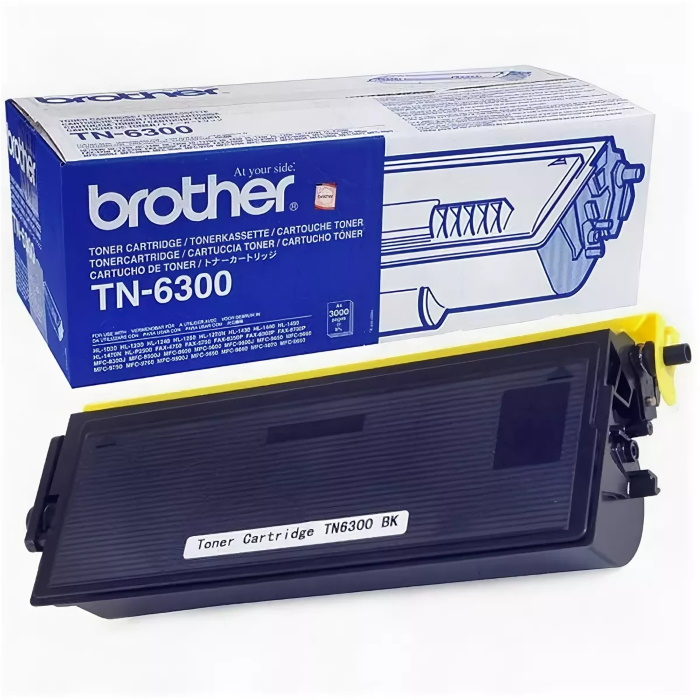 Заправка картриджа Brother TN-6300 для Brother HL-1030, 1230, 1240, 1250, 1270, 1430, 1440, 1450, 1470, P2500, FAX-4750, 5750, 8350, 8360, 8750, IntelliFAX-4100, 4750, 5750, MFC-8350, 8750, 9600, 9650, 9660, 9750, 9760, 9850, 9860, 9870, 9880