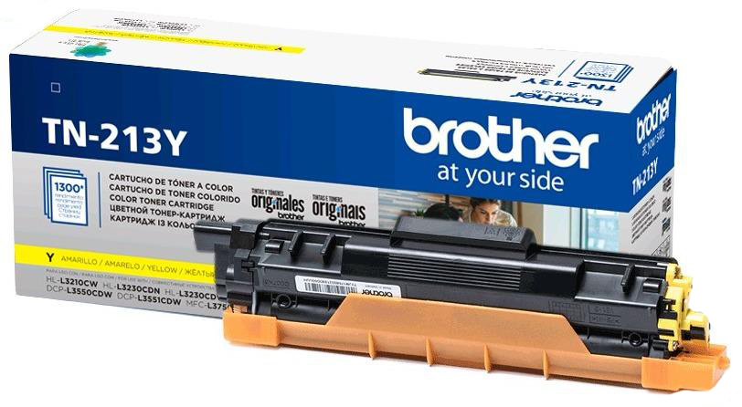 Заправка картриджа Brother TN-213Y HL-L3230CDW, DCP-L3550CDW, MFC-L3770CDW