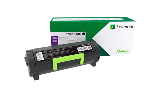 Заправка картриджа Lexmark 51B5000 для MS317dn, MX317dn, MS417dn, MX417de, MS517dn, MX517de, MS617dn, MX617de